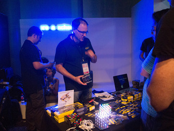 Freetronics exhibited all things Arduino.