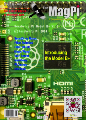 MagPi August Issue