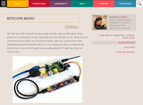 BitScope Micro & Raspberry Pi - the perfect combination !