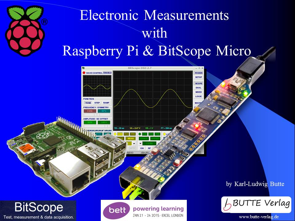 Electronic measurement with BitScope Micro