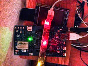 Intel Edison and BitScope Micro