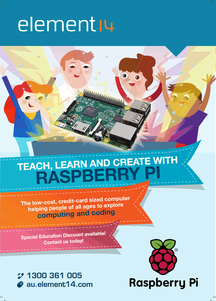 Teach, Learn and Create with Raspberry Pi