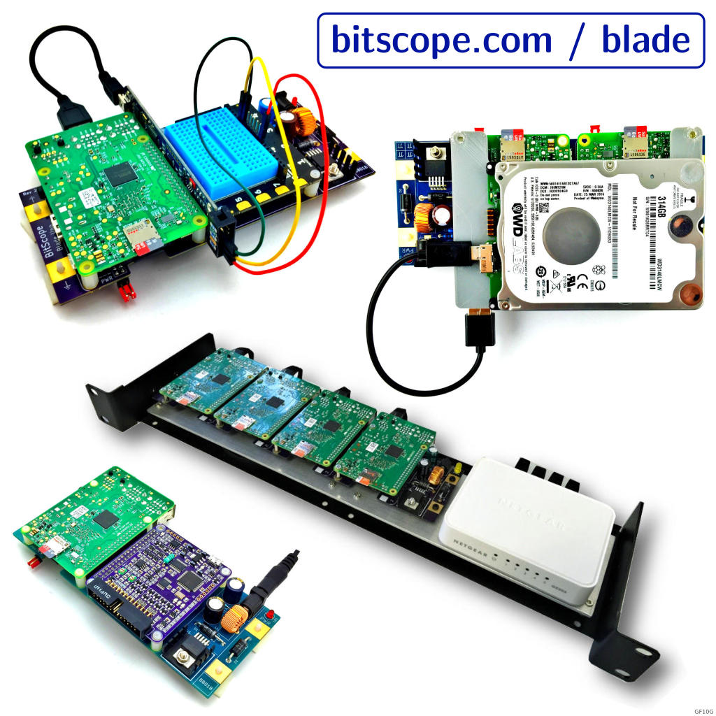 Bitscope News Announcements And Releases Standoffs Prevent The Circuit Board From Shorting Against Case Wow Blade Application Examples