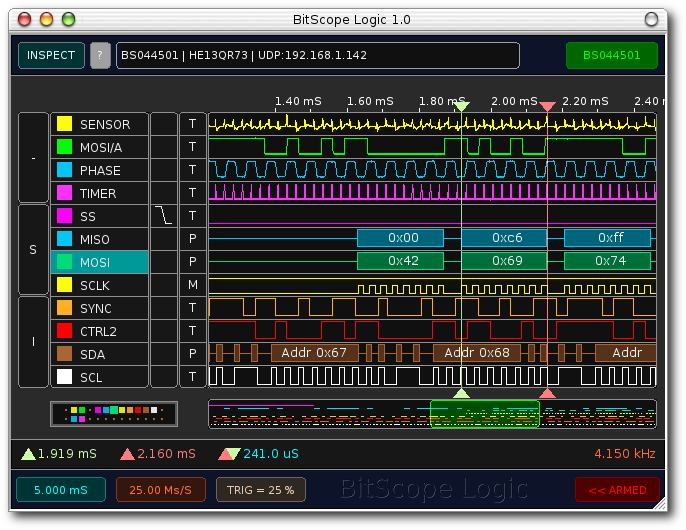 Software for BitScope PC Oscilloscopes, Logic Analyzers and ...