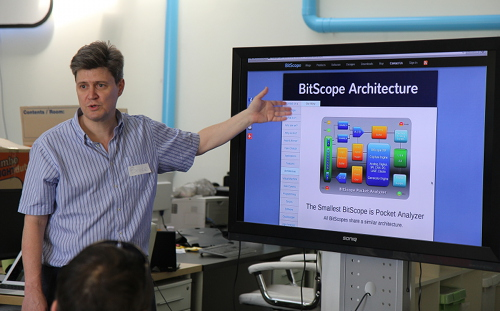 Bruce from BitScope speaking about BitScope Designs.
