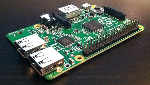Raspberry Pi Model B+ on a diet :)
