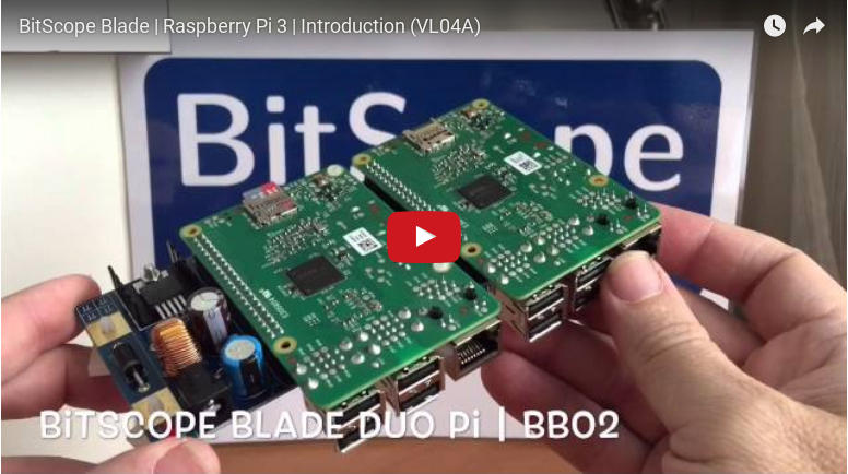 Raspberry Pi 3 Model B unboxing and review video.
