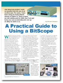 Silicon Chip Magazine - BitScope Review