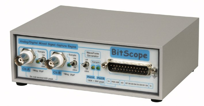 Bitscope BS310 100mHz Dual Channel DSO, Function Generator & Raspberry Pi |  eBay