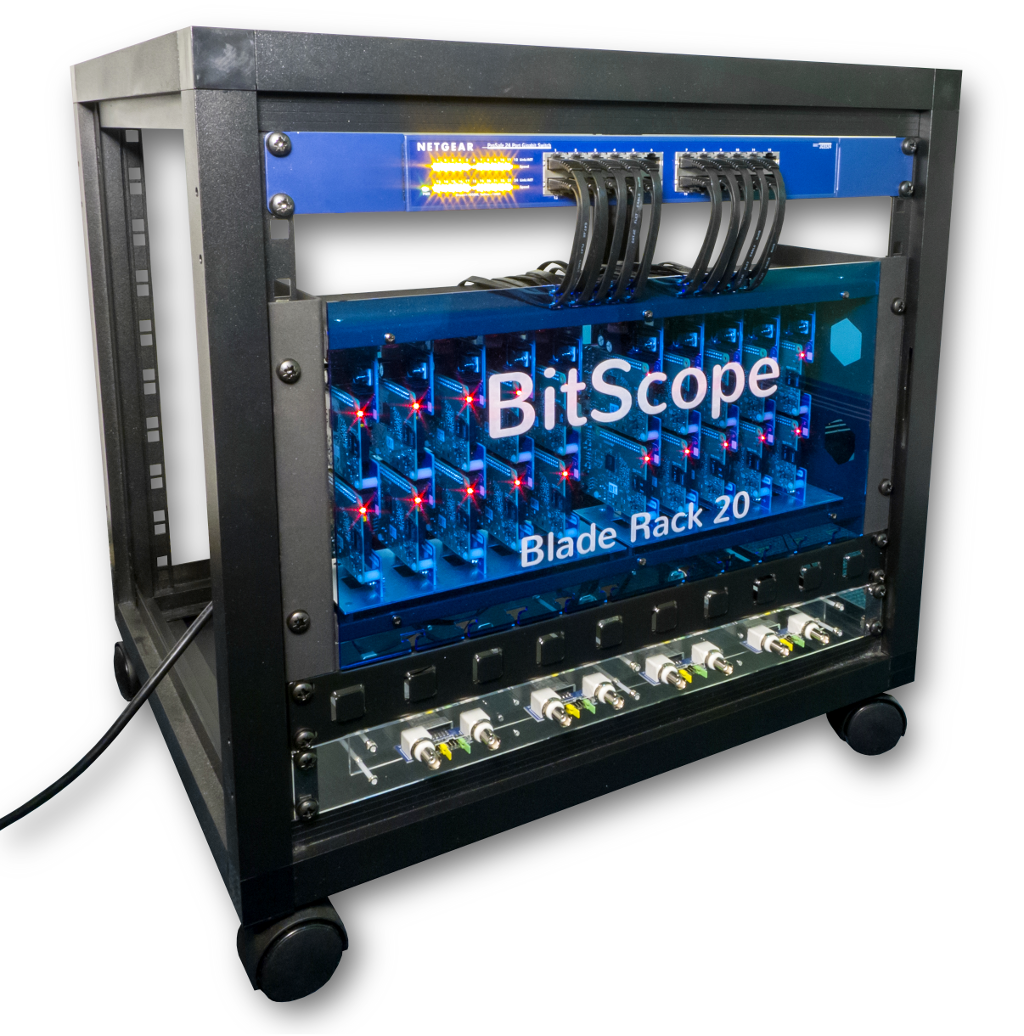 BitScope Blade Power & Mounting Solutions for Raspberry Pi