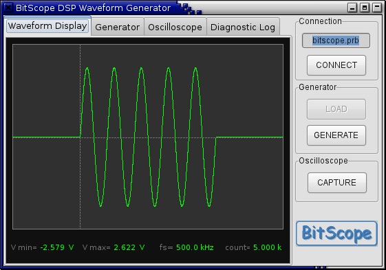 Software for BitScope PC Oscilloscopes, Logic Analyzers and Waveform